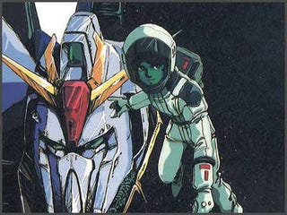 Illustration for article titled Andrew W.K. Parties Hard on Gundam Tribute Album