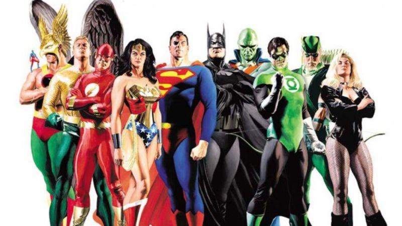 Illustration for article titled Justice League movie might premiere around the same time as The Avengers 2