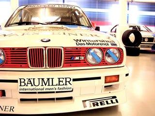 Illustration for article titled A Peek Inside BMW's Secret Motorsport Warehouse