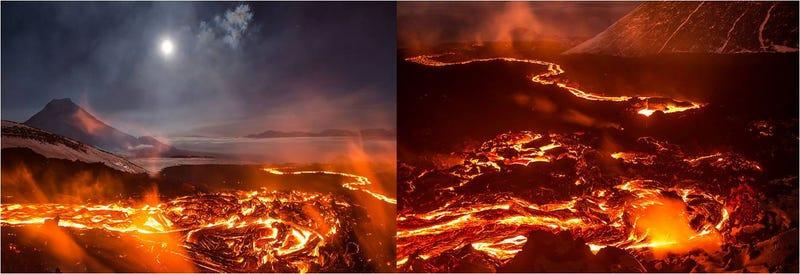 Illustration for article titled El lugar de la Tierra más parecido a Mordor: los volcanes de Kamchatka