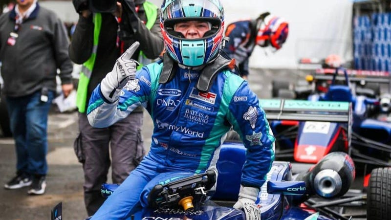Billy Monger Takes Pau Grand Prix Victory Two Years After Losing Both Legs In Formula 4 Crash