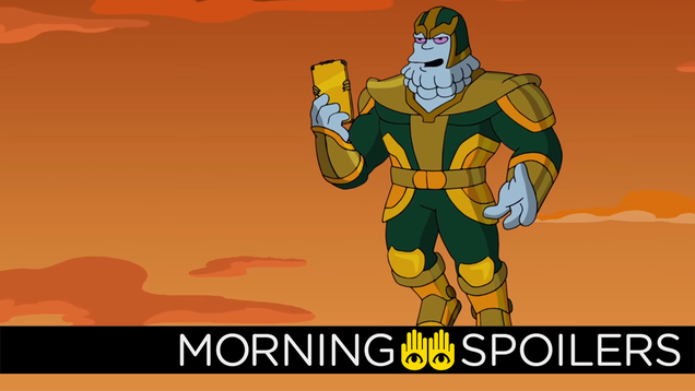 Our First Look at Kevin Feige s Simpsons Cameo Is Here