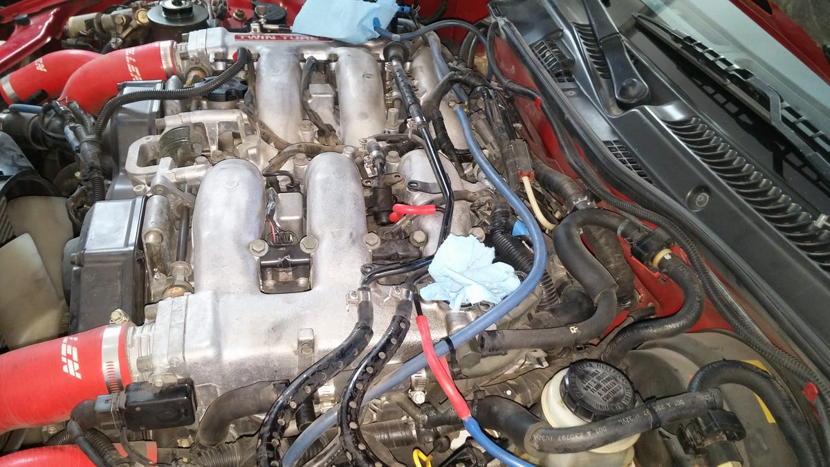 Heres Exactly What It Cost To Buy And Rebuild A Nissan 300zx Twin Turbo 91 Toyota Pickup Wiring Harness Routing