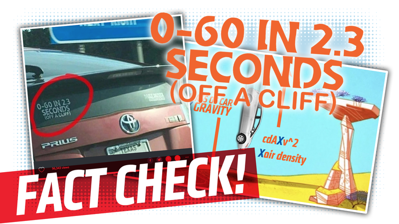 Illustration for article titled An Exhaustive Fact-Check Of That 0-60 In 2.3 Seconds (Off A Cliff) Sticker