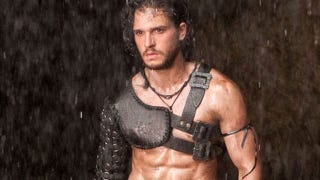 Illustration for article titled Jon Snow Knows Nothing About Lava or Shirts in the Pompeii Trailer