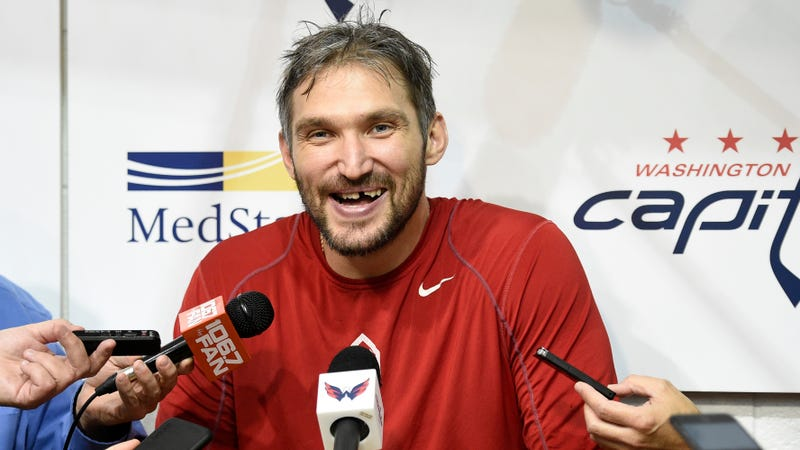Illustration for article titled Alexander Ovechkin Gains Vitality From Booze