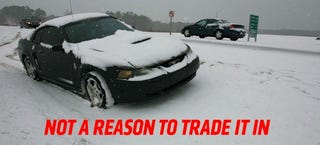 Illustration for article titled Do Not Get Rid Of Your Car Because Of The Occasional Snow Storm