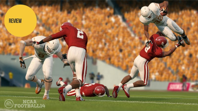 Illustration for article titled NCAA Football 14: The Kotaku Review