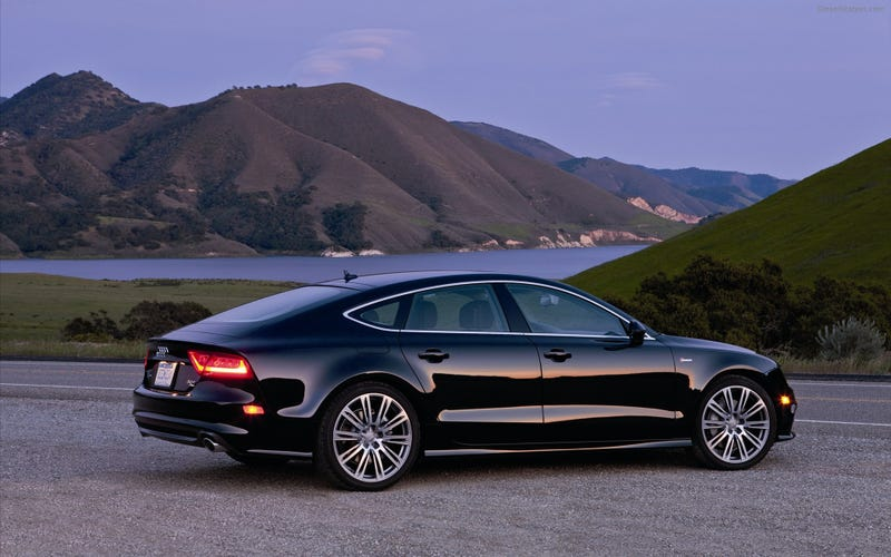 Illustration for article titled The Audi A7........