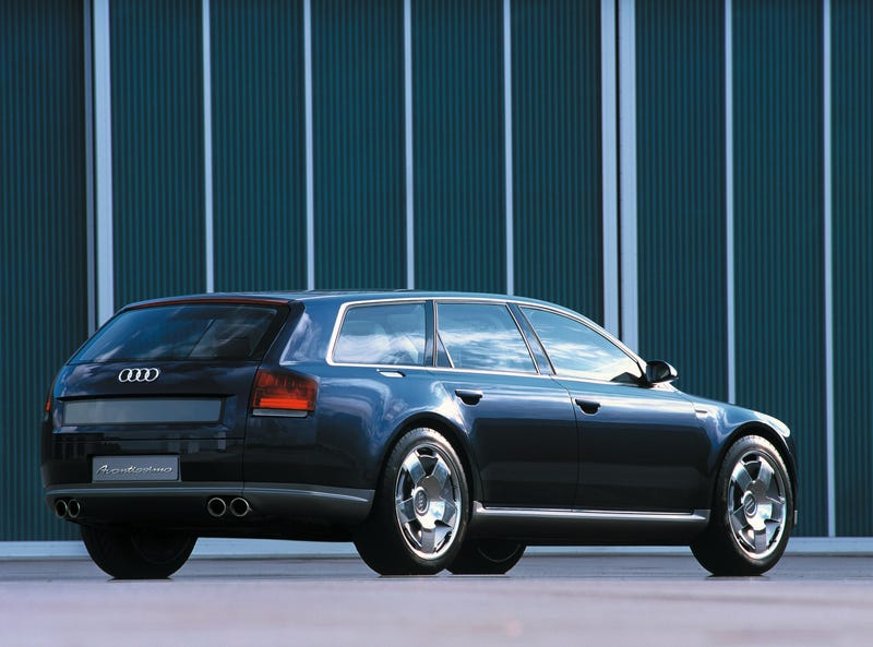You might want the RS6 but I'm not satisfied. I think we need an A8-based wagon to bring everything