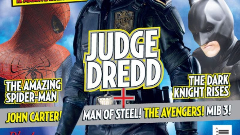 Illustration for article titled Hey, how's that new Judge Dredd movie looking?