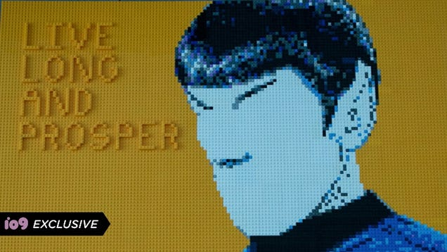 Spock's Famous Gesture Imagined Like Never Before in this Star Trek Time-Lapse
