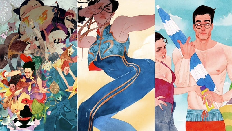 Illustration for article titled Chun-Li Is Covered Up, But Clark Kent Isn't