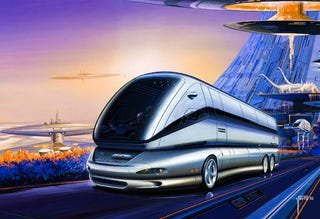 Illustration for article titled Alessandro Porta Artwork Makes Us Fantasize About Dystopian Mass Transit