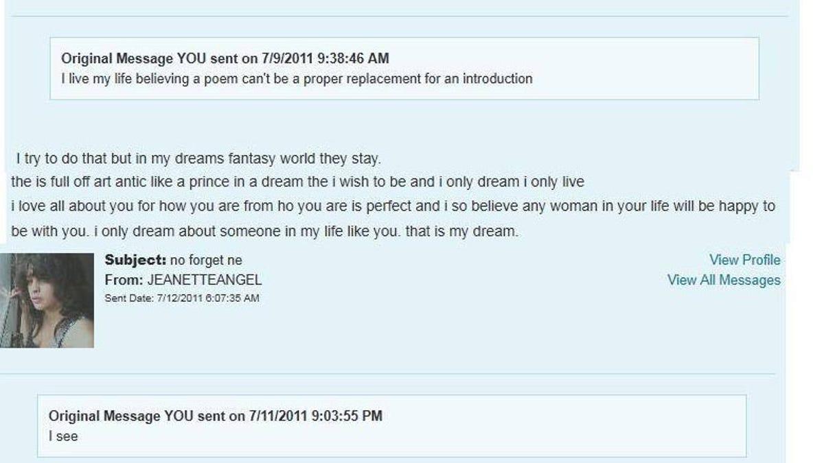 Poem for dating profile