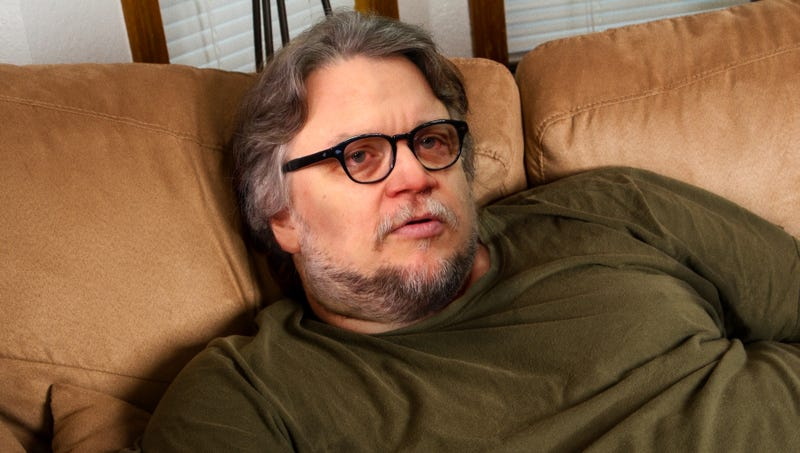 Illustration for article titled Hungover Guillermo Del Toro Panics After Realizing He Promised To Write New Movie For Everyone At Oscars After-Party