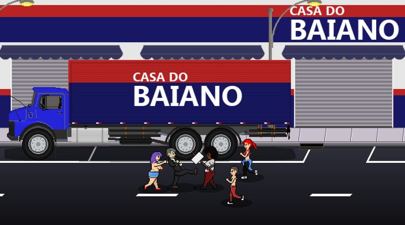 Illustration for article titled Brazilian Government Calls For Removal Of Violent Far-Right Game From Steam
