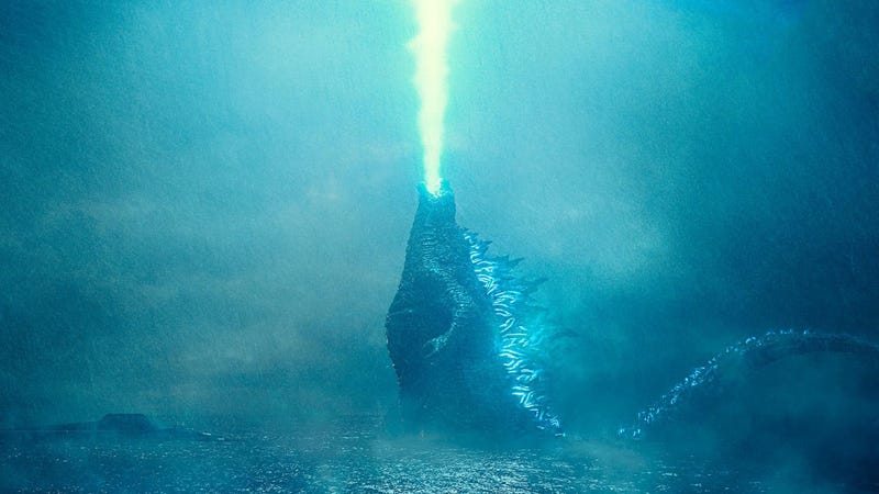 Godzilla must've lit a torch under someone's butt to get his crossover movie released earlier.