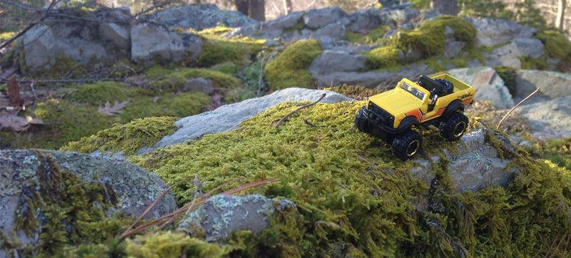 Illustration for article titled Who Else Takes Their Die-Cast Trucks Off-Roading?