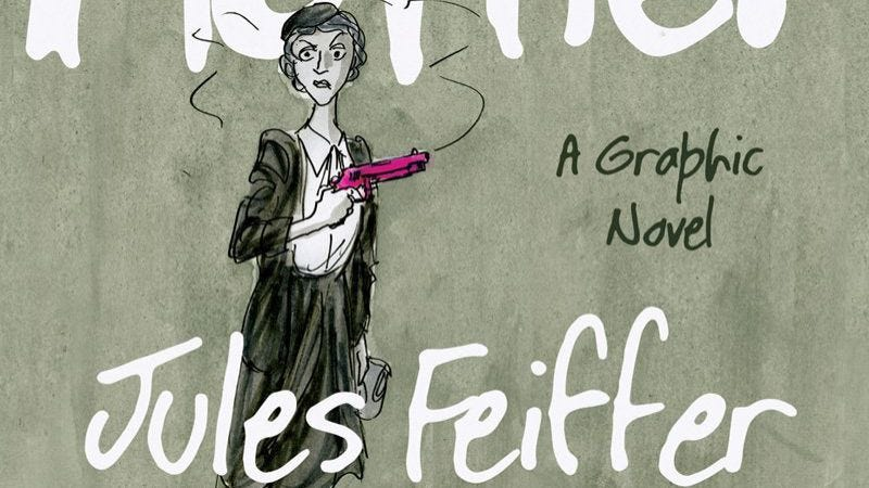 Illustration for article titled Jules Feiffer's Kill My Mother and the perils of being a living legend