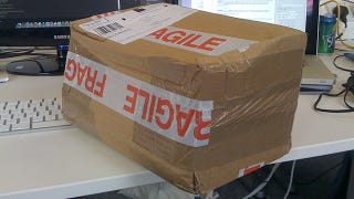 """Illustration for article titled Writing """"Fragile"""" On a Package May Result in Worse Treatment"""