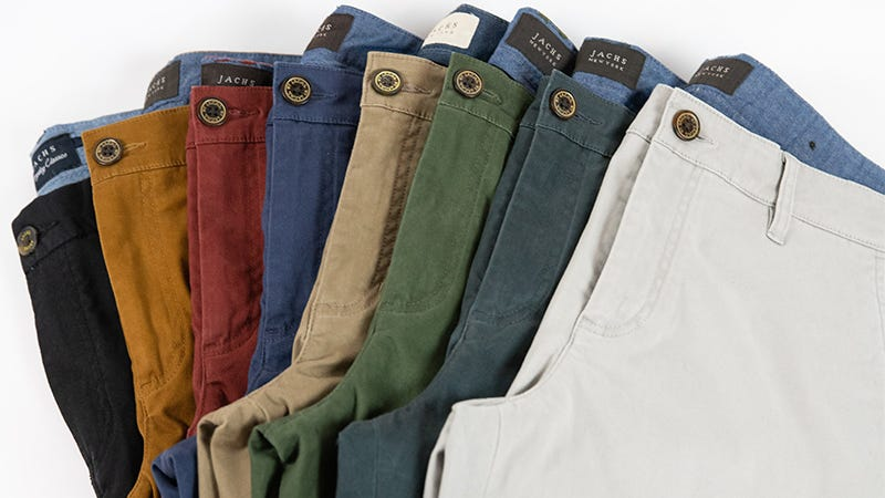 Illustration for article titled Step Into A Pair Of Soft, Comfortable Chinos From Jachs For Just $44 (50% Off)