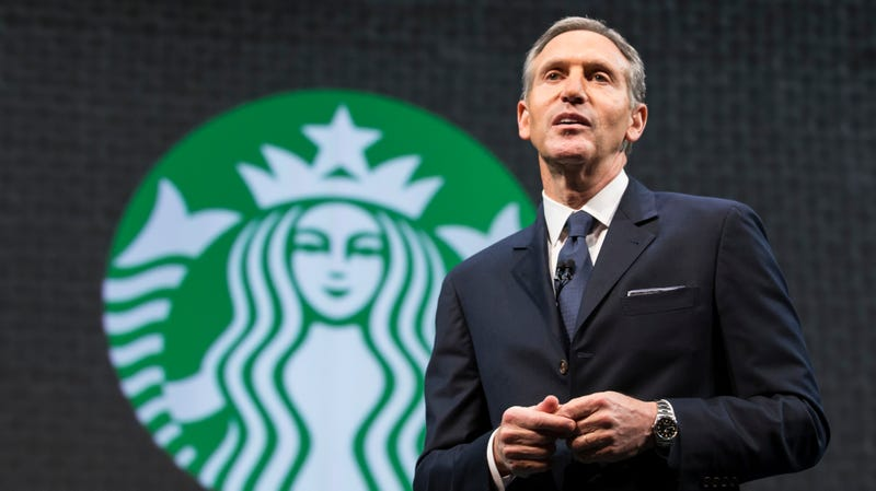 Illustration for article titled Don't Ask Your Starbucks Barista About Howard Schultz