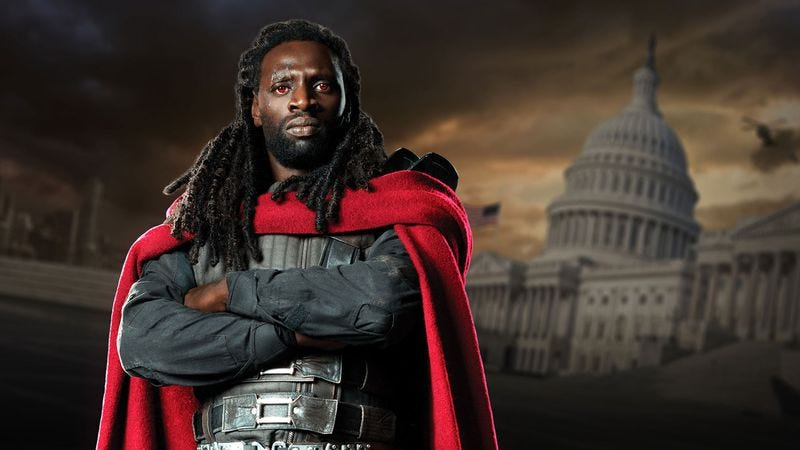 Omar Sy as Bishop in X-Men: Days Of Future Past (2014)