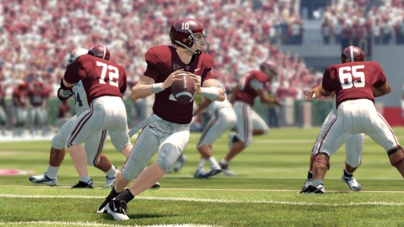 Illustration for article titled A Backup Quarterback Pushes You to be Better in NCAA Football 13