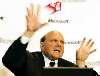 Illustration for article titled Ballmer Says Microsoft Ready for Future Without Yahoo