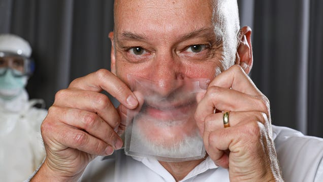Researchers Have Created Transparent, Breathable Face Masks