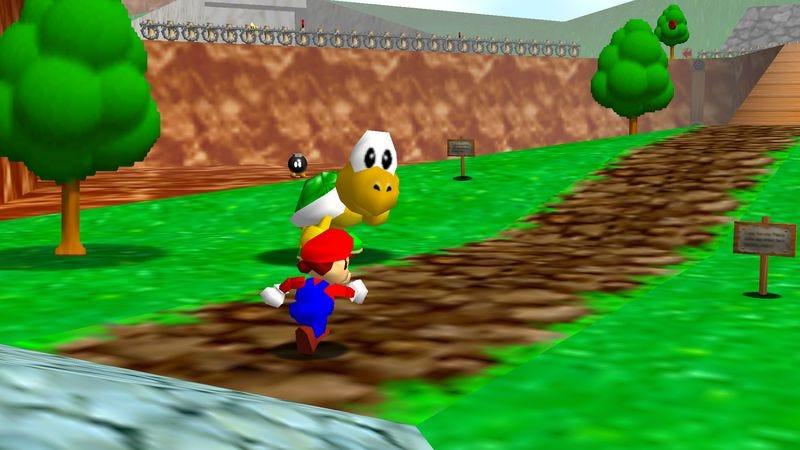 Screenshot: Super Mario 64/The Super Mario Wiki