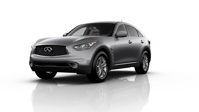 Illustration for article titled The 2017 Infiniti QX70S Is A Real 'Home Run' For Infiniti