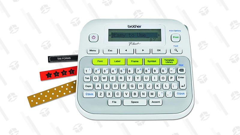 Brother P-Touch Label Maker | $20 | Amazon