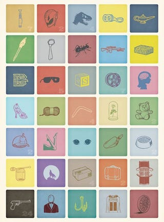 Illustration for article titled Can you recognize these upcoming movies from just a simple icon drawing?