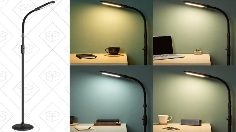 Aukey LED Floor Lamp | $58 | Amazon | Promo code KINJAFL5