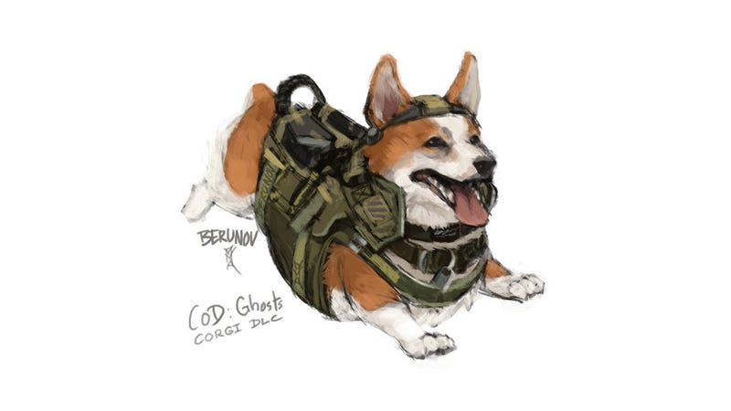 Illustration for article titled Please, Let This Be Call Of Duty Dog's First DLC
