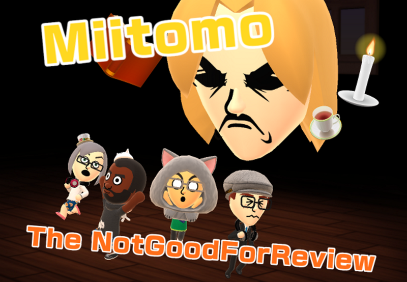 Illustration for article titled Miitomo: The NotGoodForReview
