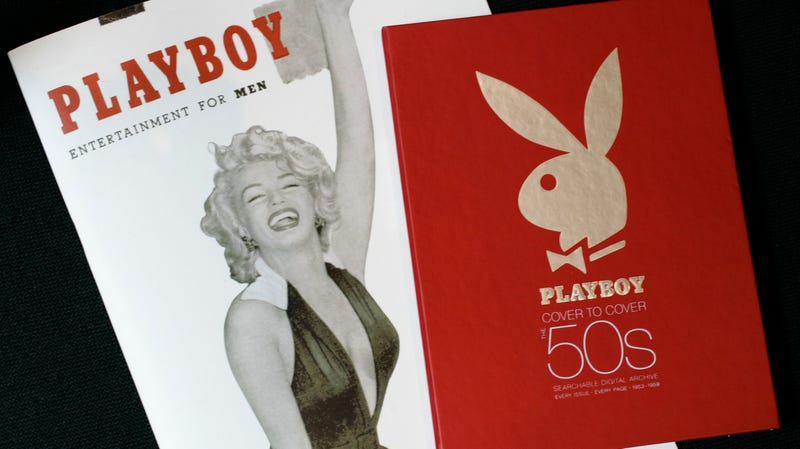 Illustration for article titled Hugh Hefner's Copy of Marilyn Monroe's Playboy Is Up For Auction for Creeps Into 'Desperation' Nudes