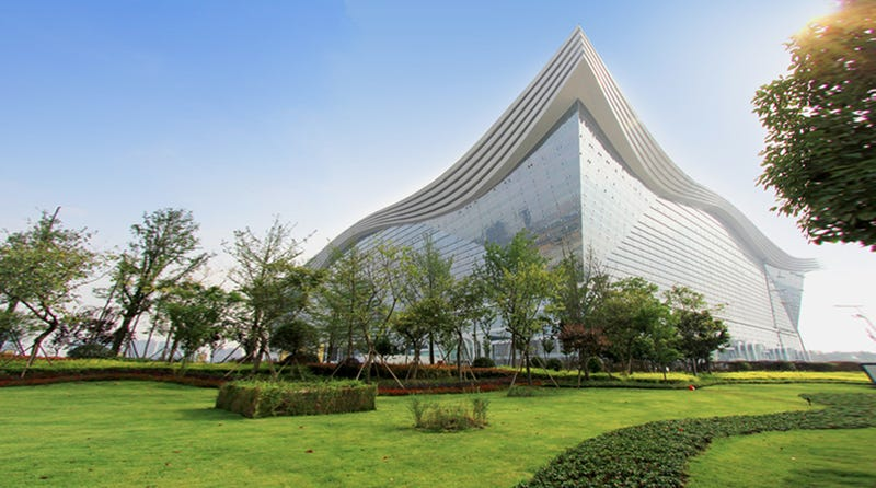 Illustration for article titled The Largest Building Ever Constructed Has Opened in China