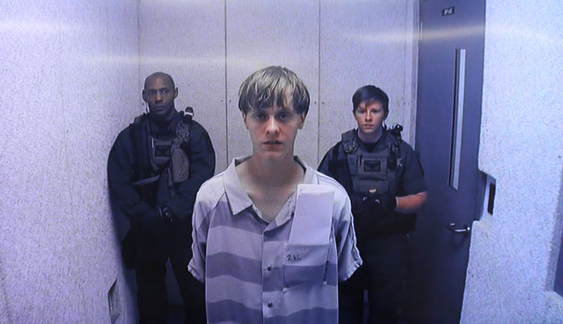 Dylann Roof (center) Grace Beahm-Pool/Getty Images
