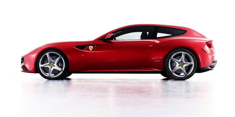 Illustration for article titled Ferrari FF: Four Wheel Drive, Four Seats, One Fantastic Rear End