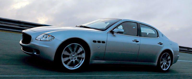 The Maserati Quattroporte Was Not Always A Curvy Italian Model