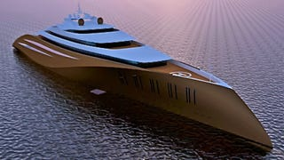 200-Meter-Long Superyacht Makes All Billionaires' Existing Yachts Look Merely Clitoral