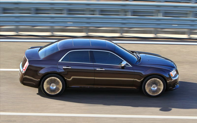 Illustration for article titled I'd rather have the Lancia Thema than the Chrysler 300C. Why?