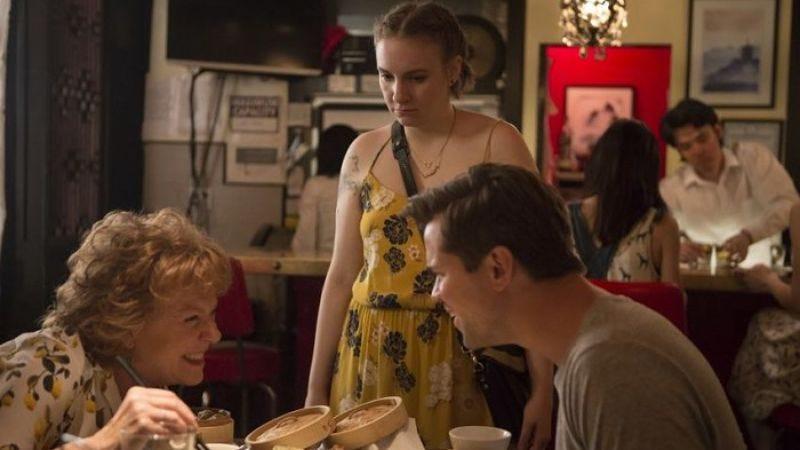 Becky Ann Baker, Lena Dunham, and Andrew Rannells (Photo: HBO)