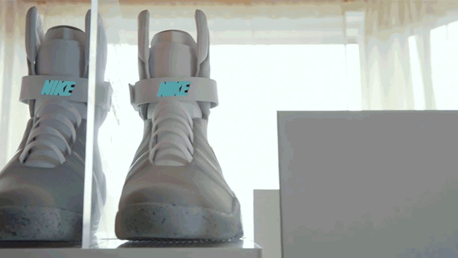 newest b15bf 3d45e This Guy Treats His Back to the Future Nike Mags Like a Newborn Baby