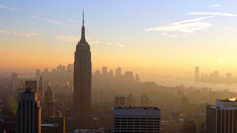 The Empire State Building was the tallest building in the world for 41 years, nearly twice as long as any other skyscraper held the title.
