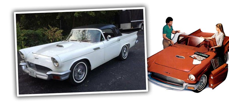 Illustration for article titled This Thunderbird Doesn't Have What You Think Under The Hood