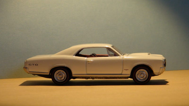 Illustration for article titled LaLD Car Week: 'Murica Monday: Pontiac GTO [1:64]